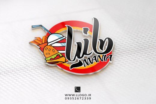 طراحی لوگو رستوران مانیا