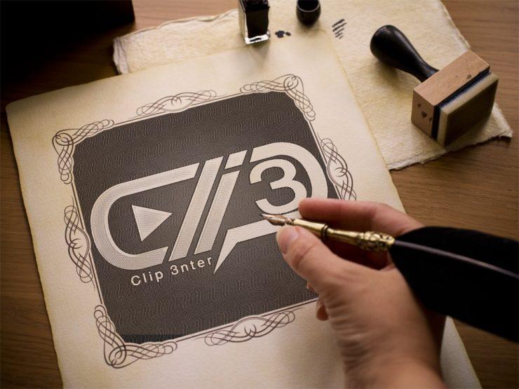 طراحی لوگو کلیپ سنتر