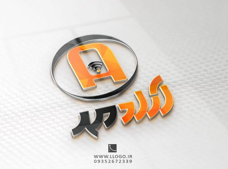 طراحی لوگو موبایل آراد
