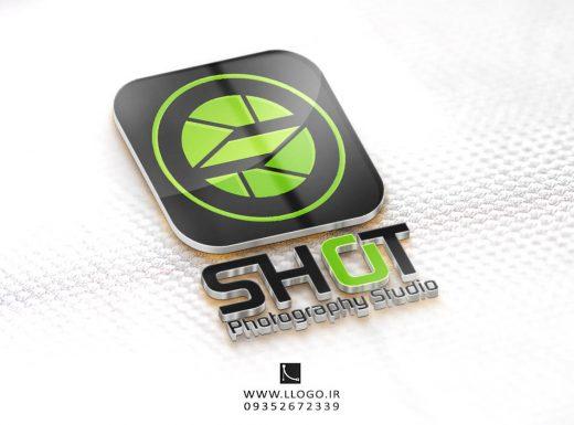 طراحی لوگو عکاسی شات