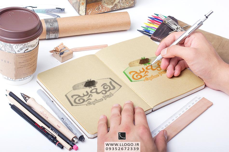 طراحی لوگو لقمه پیچ