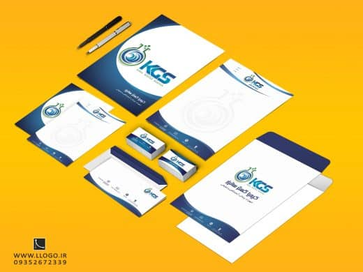 طراحی ست ادار شرکت کیمیا گستر