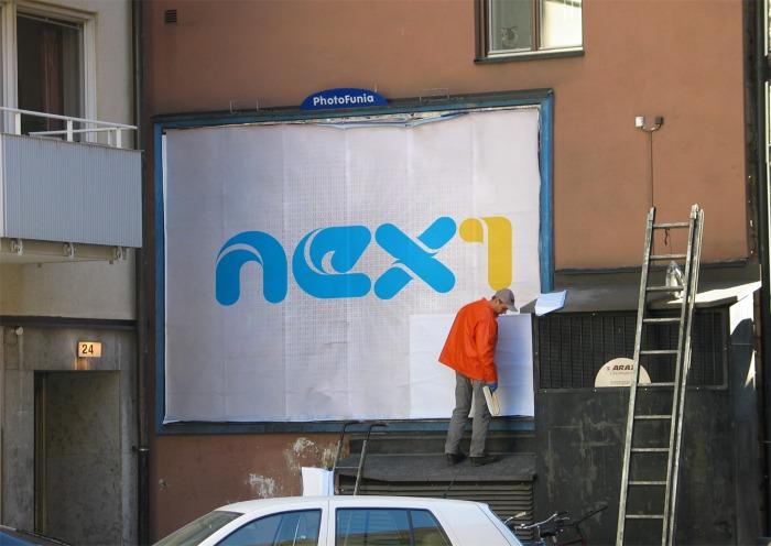 طراحی لوگو شبکه تلویزیونی NEX1