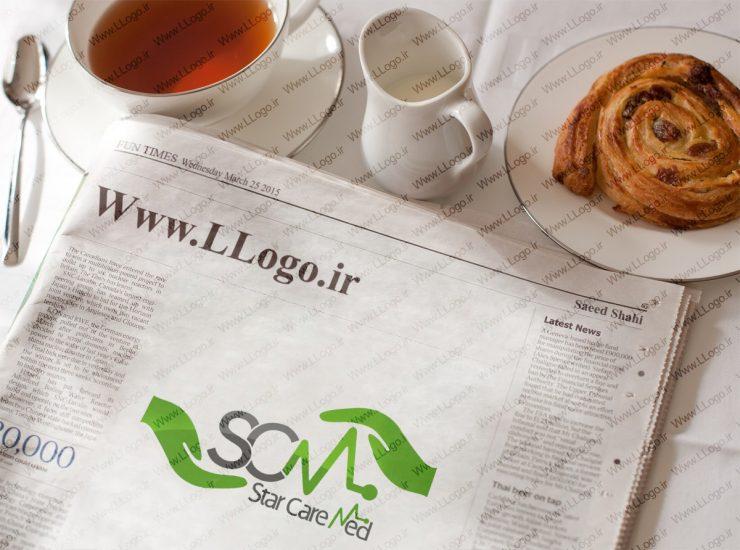 طراحی لوگو Star Care Med