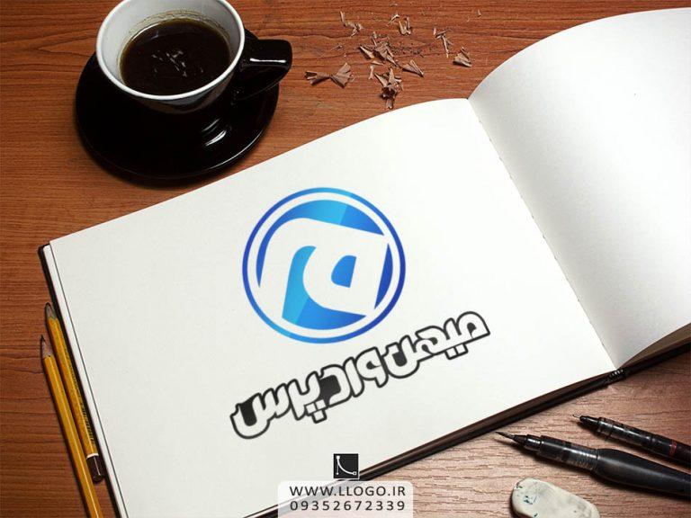 طراحی لوگو میهن وردپرس