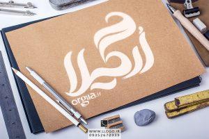 طراحی لوگو فروشگاه ارگیلا