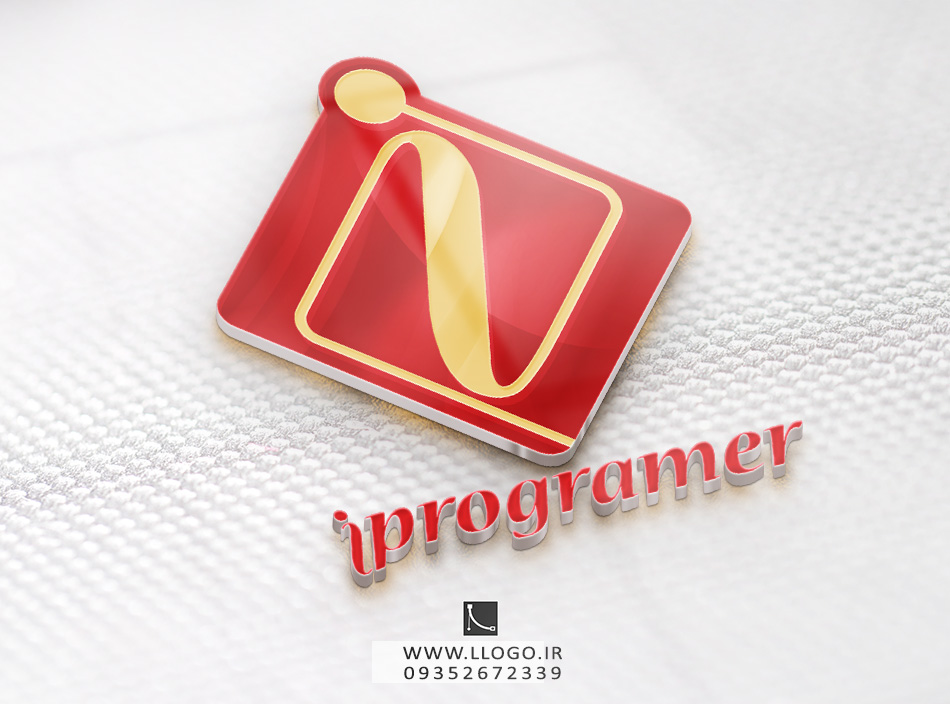 طراحی لوگو i programer