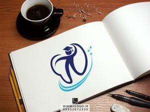 طراحی لوگو استعدادهای دندان پزشکی