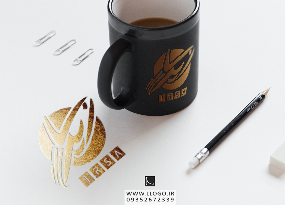 طراحی لوگو شرکت هواپیماسازی ایرسا