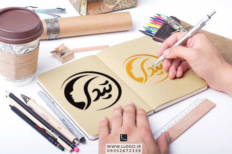 طراحی لوگو عکاسی و فیلم برداری تیدا
