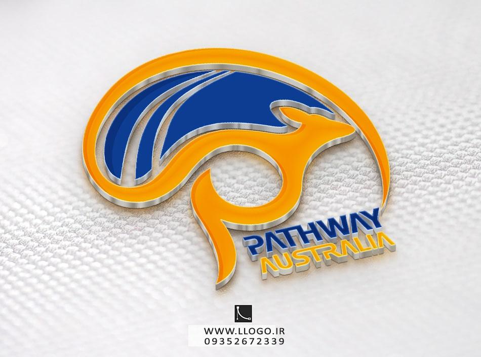 طراحی لوگو شرکت pathway Australia