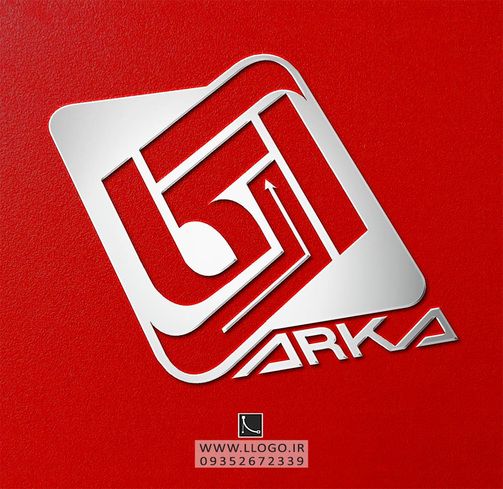 طراحی لوگو شرکت آماری آرکا