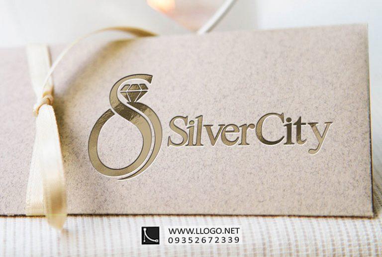 طراحی لوگوی طلا و جواهر سیلور