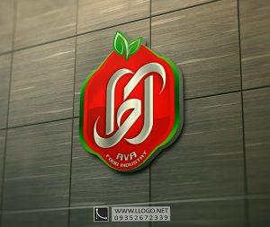 لوگو صنایع غذایی