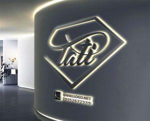 طراحی لوگو برای طلا فروشی تاتی