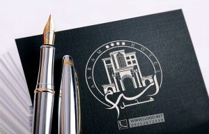 طراحی لوگو هتل اسرم