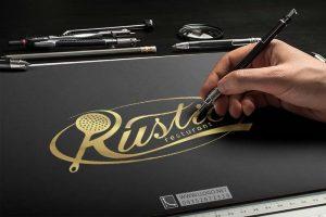 طراحی لوگو رستوران Rustic